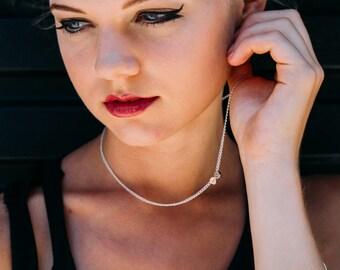Schädel Halskette, Schädel Schmuck Frauen, Ooak Schädel Schmuck, Halskette für Halloween, Frauen Totenkopf Kette, witchy Schmuck, Schaman