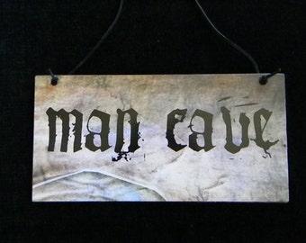 Man Cave Decorative Plaque