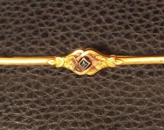 Gorgeous ORIA Art Nouveau Antique Brooch Pin