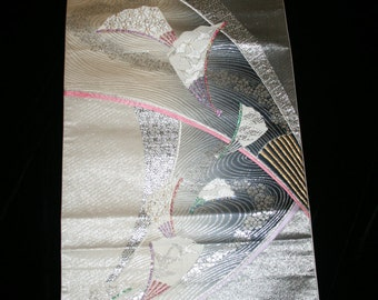 Vintage Japanese Obi fabric