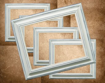 Picture Frame Picture Frame 8x10 Picture Frames White Shabby Chic Picture Frames Distessed Rustic Wedding Frames Home Decor Custom Colors