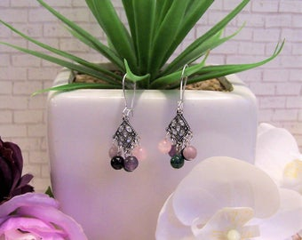Empathic Glam Gemstone Earrings