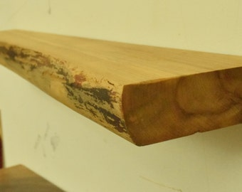 No. 53 - Thick Elm Floating Shelf