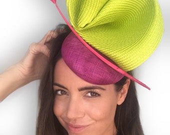 Kentucky Derby hat, Derby hats for women, Big derby hat, ladies derby hat, green hat for the races