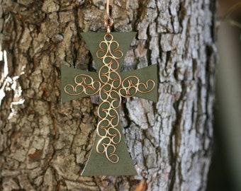 Cross, Metal  Cross, Wall Hanging Cross, Iron Cross, Home Decor, Wall Hanging Crosses, Metal Crosses,