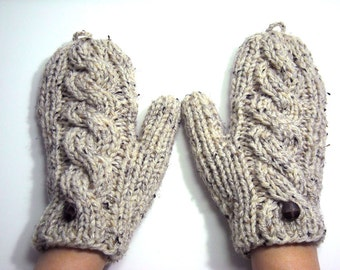 Short to Extra Long Convertible Mittens with Thumb Holes