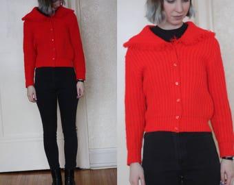1960s cardigan // vintage 60s cardigan