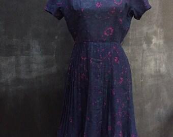 Mod Organza Pleated Dress