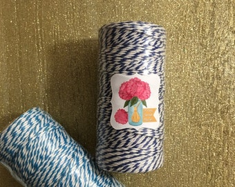 Bakers Twine, 110 yd/Spool, Gift tag twine, Favor bags twine, Gift wrapping
