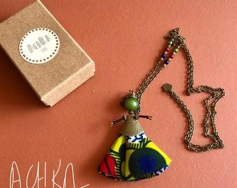 WAX DOLL NECKLACE