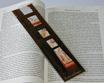 LAMINATED bookmarks, alley in South - Photo