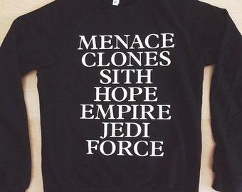 Star Wars inspired Sweatshirt - by So Effing Cute