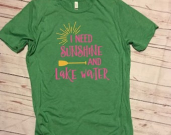 I need Sunshine and Lake Water