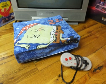 Sponge Bob WRETRO WRAPPER console dust cover