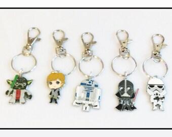 Star Wars Character Keyring
