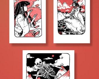 Yokai (A6) Small Prints