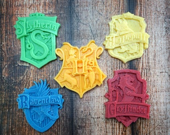 Harry Potter Soap   Harry Potter Crest   Hogwarts Soap   Nerdy Soap   Harry Potter Bathroom   Harry Potter Gifts   Harry Potter Party Favors