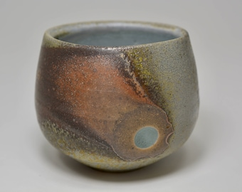 Wood fired Hand-warming Pottery Mug