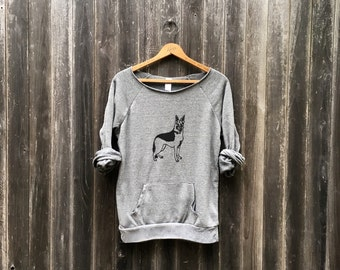 i got your back German Shepherd Shirt, Dog Sweater, Cozy Sweater, S,M,L,XL,2XL