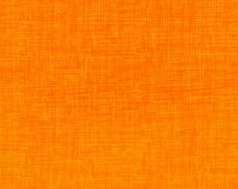Sketch Tangerine Fabric  - 1 Yard Cut - Timeless Treasures  - Cotton Fabric - Quilting Fabric - C8224