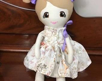 Fabric Doll, Cloth Doll, Soft Doll