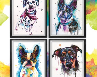 CUSTOM PET PORTRAIT Paintings