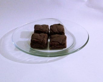 Chocolate Brownie Candle Wax Melts, Set of 4