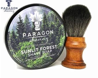 Sunlit Forest Soap + Black Synthetic RAV Brush
