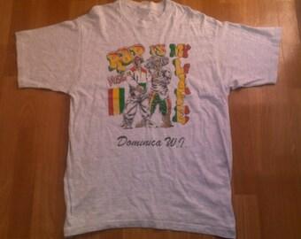 Vintage RAP is my Life hip hop jersey, hustle t-shirt of 90s hip-hop clothing, 1990s, OG, gangsta rap, rap size L Large