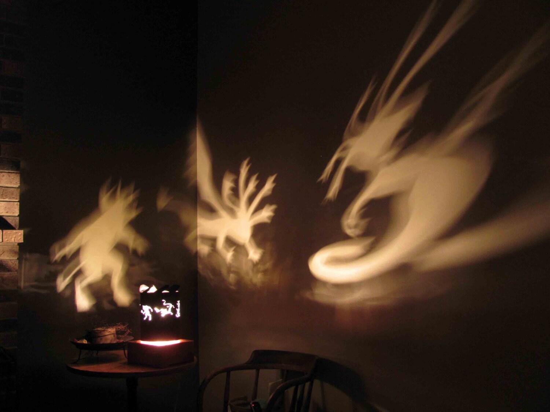 Spinning halloween lamp shade greek mythology creatures zoom aloadofball Image collections