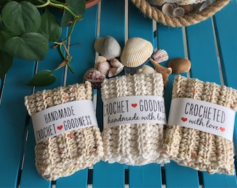 Dishcloths/100 Percent Cotton/Giving Back/Dishcloth/Washcloth/Save the planet/Reuse/Recycle/Scrubby