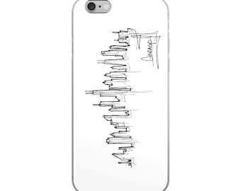 Chicago Skyline Vertical - iPhone Case
