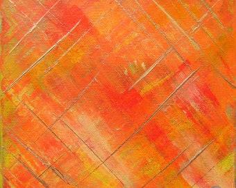 Weaving Warm Colors II