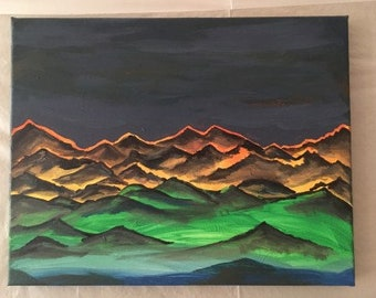 Technicolor Mountainscape