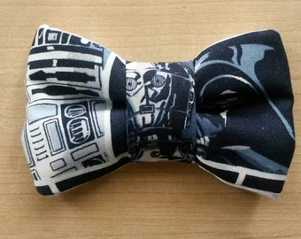 Star wars inspired clip on Bow Tie / Hair Bow.