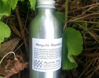 Mosquito Repellent 4 oz by Aquarian Bath Plastic Free