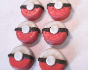 Pokemon Chocolate Dipped Oreo's - 1 Dozen