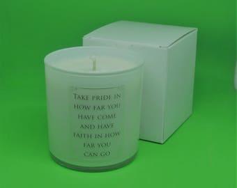 Memories - 16.7 oz - Soy Bean Wax Candle Jar - Handmade poured
