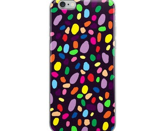 Rainbow Confetti iPhone Case
