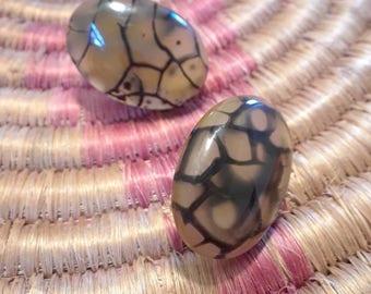 Dragon Vein post earrings