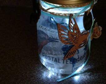 Rustic LED Tea Light/Nite light,Mood light.Hand crafted to your Personal Preferences or Stock