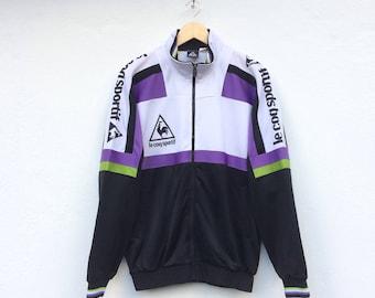 Vintage Le Coq Sportif Spellout Windbreaker Training Jacket