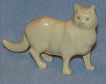 Vintage Plastic Hav A Toy Standing Cat Rattle Toy