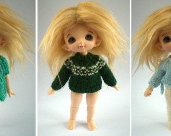 Simply Sweaters - Knitting Pattern eBook for Lati Yellow and Pukifee