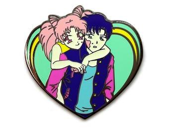 Sailor Chibi Mask Bubblegum Pin