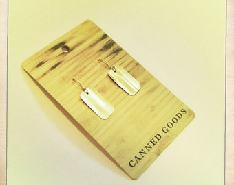 RECTANGLE FLAT - XS Earring