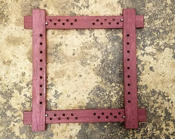Purpleheart Slate frame Slateframe for Embroidery