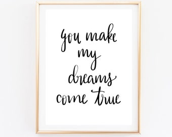 Wall print quote - wall quote - print quote -  bedroom quote print  - abstract art - nursery art - nursery decor - wall decor - wall art