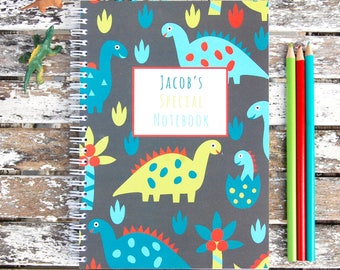 Dinosaurs Personalised Notebook