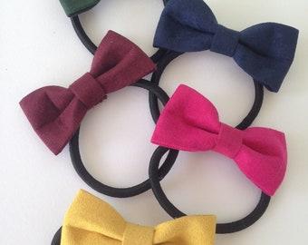 Ribbon Hair Tie/ Bow Hair Elastic